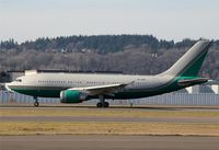 HZ-NSA @ KBFI - KBFI Formerly V8-DPD owned by the Sultan of Brunei visited KBFI as such for the WTO meeting in Seattle which was the cause of riots downtown.