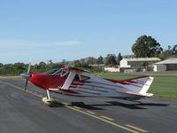 N114BG @ SZP - 1987 Garrett SORRELL SNS-7 HIPERBIPE, L:ycoming IO-360-B1E 180 Hp, engine stopped for push park on transient line - by Doug Robertson