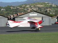 N114BG @ SZP - 1987 Garrett SORRELL SNS-7 HIPERBIPE, Lycoming IO-360-B1E 180 Hp, landing Rwy 04 - by Doug Robertson