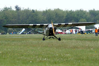 G-BDHK @ EGHP - Piper J-3C-65 Cub [8969] Popham~G 05/05/2007 Wears US markings of 329417. - by Ray Barber