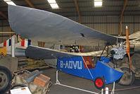 BAPC211 @ X5US - Mignet HM14 Pou de Ciel at the NE Aircraft Museum, Usworth in October 2010. - by Malcolm Clarke