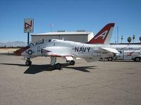 165627 @ KTUS - US Navy T-45 Goshawk at Ratliff Aviation FBO, Tucson AZ - by Ehud Gavron