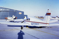 N202MA @ OSU - 1971, Piper - by DLCook