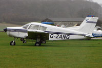 G-ZANG @ EGNF - 1972 Piper PIPER PA-28-140, c/n: 28-7225178 at Netherthorpe