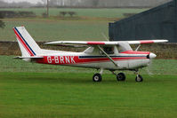 G-BRNK @ EGNF - 1977 Cessna CESSNA 152, c/n: 152-80479 at Netherthorpe - by Terry Fletcher