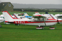 G-ROLY @ EGNF - 1980 Reims Aviation Sa REIMS CESSNA F172N, c/n: 1945 at Netherthorpe
