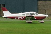 G-BPXA @ EGNF - 1983 Piper PIPER PA-28-181, c/n: 28-8390064 at Netherthorpe