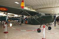 L12-2 @ LECU - Spanish Air Force bird, served with the 407 Escuadrilla de Enlace - by Daniel L. Berek