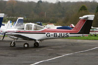 G-BJUS @ EGTR - 1980 Piper PIPER PA-38-112, c/n: 38-80A0065 at Elstree