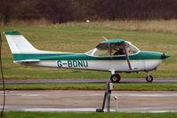 G-BDNU @ EGTR - 1976 Reims Aviation Sa CESSNA F172M, c/n: 1405 at Elstree