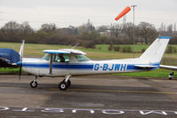 G-BJWH @ EGTR - 1982 Reims Aviation Sa REIMS CESSNA F152, c/n: 1919 at Elstree
