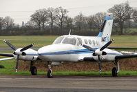 N41098 @ EGTR - 1973 Cessna 421B, c/n: 421B0448 at Elstree
