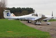 G-OCCG @ EGTR - 2006 Diamond Aircraft Industries Gmbh DA40D, c/n: D4.230 at Elstree