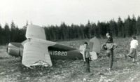 N16820 - N16820 after a crash. - by Tom Brandt