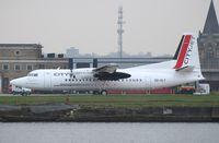 OO-VLY @ EGLC - Fokker 50