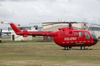 ZK-HYT @ NZCH - another involved in the ferry of injured from the quake - by Bill Mallinson