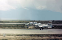 70-1567 @ ABQ - T-38A Talon landing at Albuquerque in May 1973. - by Peter Nicholson