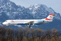 OE-LVE @ LOWS - Austrian Arrows (Tyrolian Airways) Fokker 100 (F-28-0100) landing in LOWS/SZG - by Janos Palvoelgyi