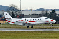 D-CAWU @ LOWS - Cessna 560XL Citation XLS landing in LOWS/SZG - by Janos Palvoelgyi
