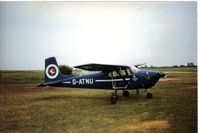 G-ATNU @ EGTC - Taken at an early Cranfield PFA Rallye in use as a para dropper (scannrd print) - by Andy Parsons