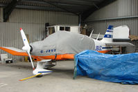 G-JBUZ @ X4PK - 1976 Avions Pierre Robin PIERRE ROBIN DR400/180R, c/n: 1158 - by Terry Fletcher