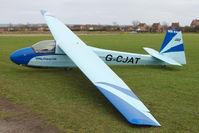 G-CJAT @ X4PK - 1963 Schleicher K8B, c/n: 8150 at Pocklington - by Terry Fletcher