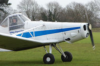 G-AXED @ X4PK - Ex Finnish (OH-PIM) 1965 Piper PIPER PA-25-235, c/n: 25-3586 is the Tug for (Pocklington) Wolds Gliding Club