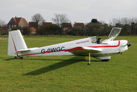 G-OWGC @ X4PK - 1977 Slingsby Engineering Ltd SLINGSBY T61F VENTURE T MK2, c/n: 1875  - ex XZ555 at Wolds Gliding Club