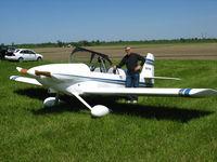 N371FZ @ 27LL - This RV-4 was restored in 2005. Owner Mike Merkan - by Bill Aanstadt