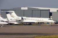 M-VRNY @ EGGW - Gulfstream Aerospace GV-SP (G550), c/n: 5225 parked at Luton - by Terry Fletcher