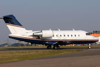 C-FCDE @ EGGW - Canadian registered 1998 Bombardier CL-600-2B16, c/n: 5392 at Luton - by Terry Fletcher
