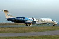 M-RCCG @ EGGW - 2010 Embraer ERJ-135 Legacy, c/n: 14501113 at Luton - by Terry Fletcher
