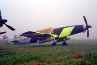 F-AZGC @ LFRN - EKW C-3605 [273] Rennes-St Jacques~F 27/09/2002. Taken in early morning fog. - by Ray Barber