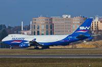 4K-800 @ ELLX - Boeing 747-4R7F _ 4K-800 - by Jerzy Maciaszek