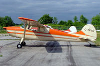 C-FFTU @ CYRO - Cessna 170B [25622] Ottawa-Rockcliffe~C 19/06/2005 - by Ray Barber