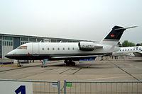 D-AETV @ EDDB - Canadair CL.604 Challenger [5417] Schonefeld~D 06/05/2002.