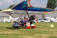 25-HN @ LFLV - Air Creation Racer XP [AO4083-4075] Vichy~F 08/07/2006. - by Ray Barber