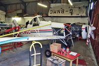 G-CMGC @ EGBD - 1977 Piper PIPER PA-25-235, c/n: 25-7756042 in Eggington for maintenance
