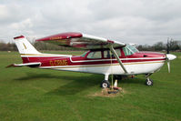 G-CBME @ EGBD - A change of colours since my last photo of 1973 Reims Aviation Sa CESSNA F172M, c/n: 1060
