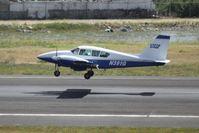 N391G @ TNCM - N391G landing at TNCM - by Daniel Jef