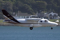 ZK-KOH @ NZWN - yet another visitor to the Capital - by Bill Mallinson