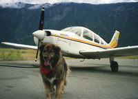 C-GJJI @ CAR3 - Dog is my co-pilot. Gassing up in Lillooet, BC on the way back to Langley Airport from Bowron Lakes Resort. - by Liddell
