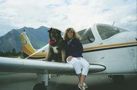 C-GJJI - Co-pilot and Flight Attendant. Lillooet Airport, 1988 - by Liddell
