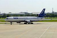 D-ALCE @ VTBD - McDonnell-Douglas MD-11F [48785] (Lufthansa Cargo) Bangkok~HS 30/10/05.