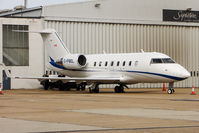 C-FBEL @ EGGW - Re-use off these marks on Canadair CL-605 Challenger, c/n: 5802 - by Terry Fletcher