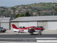 N111MB - 1981 Piper PA-28-236 DAKOTA, Lycoming O-540-J3A5D 235 Hp, taxi to 22 - by Doug Robertson