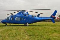 G-HDTV - Visitor to Day 1 of the 2011 Cheltenham Horseracing Festival