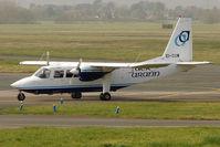 EI-CUW @ EGBJ - Aer Arran's Pilatus Britten -, Norman Ltd BN2B-26 ISLANDER, c/n: 2293 bringing in Racegoers