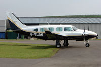 G-GURN @ EGBJ - 1979 Piper PIPER PA-31, c/n: 31-7912117 at Staverton