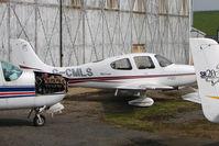 G-CMLS @ EGBJ - 2003 Cirrus SR-20, c/n: 1315 at Staverton